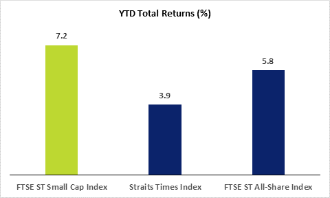 YTD Total Returns FTSE STI